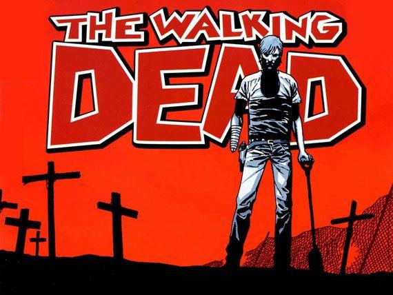 The walking dead comic.