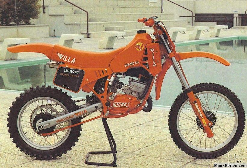 VILLA 125 MC 1983 Moto da cross, Moto, Motociclette