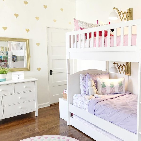 Austen Twin Over Twin Bunk Bed In 2020 Girls Bunk Beds Bunk
