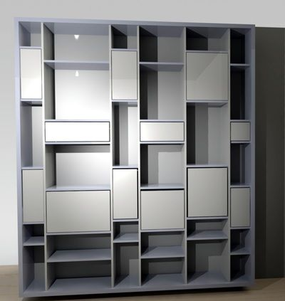 Custom made bookshelves,  bookcases,  cabinets and furniture. Furniture Bergen Norway Møbler