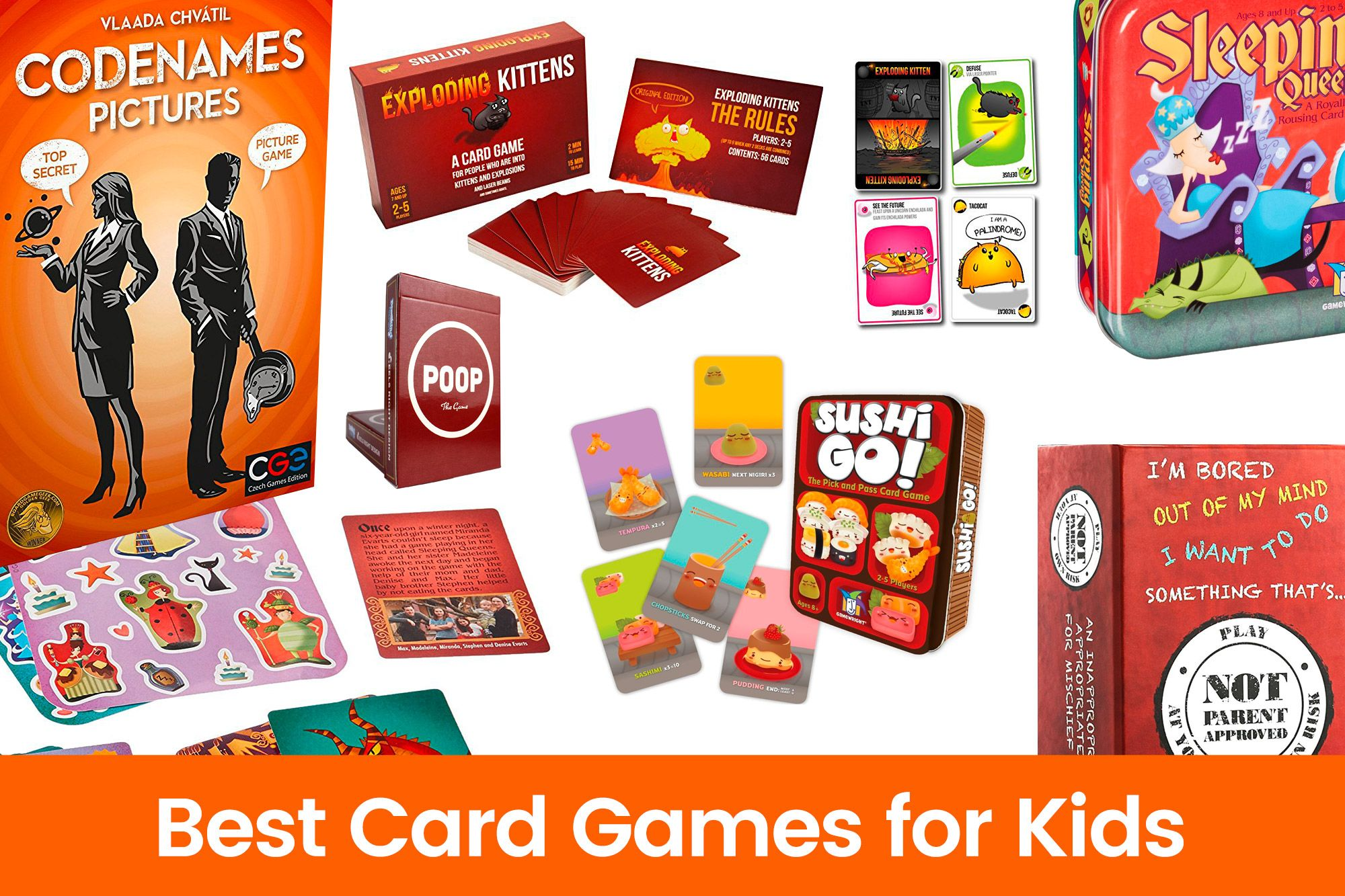 Best Card Games for Kids Tech Toys for Kids Pinterest