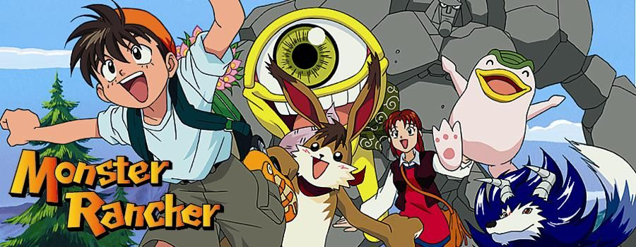 Monster Rancher I Loved This Show As A Kid Monster Rancher Anime Rwby Anime