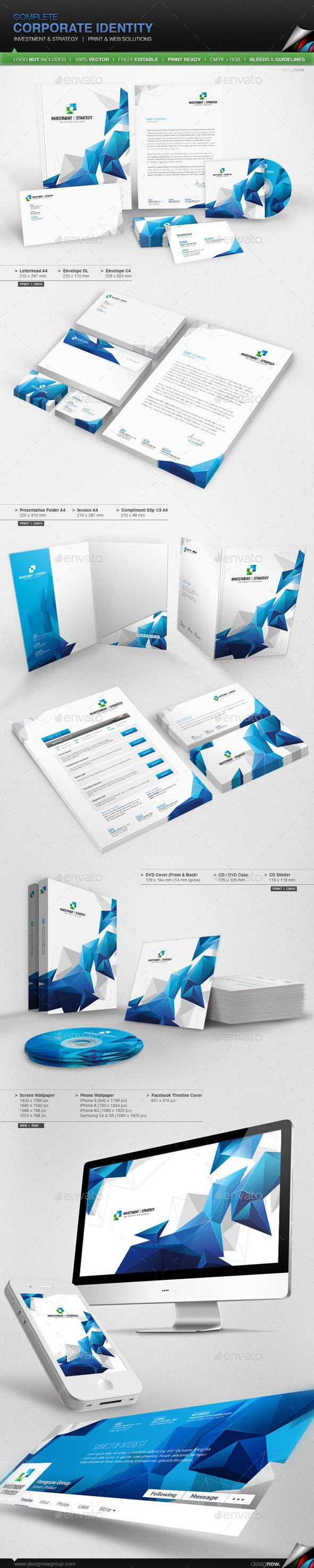 Corporate Identity  Investment And Strategy  Corporate Identity