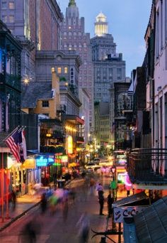 New Orleans. Been thinking about making a trip. I'm pretty thirsty and I know where I can get a good strong drink.