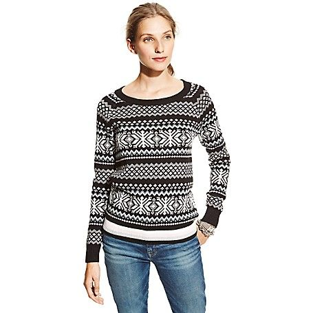 Image for PINK FAIR ISLE SWEATER from Tommy Hilfiger USA | FASHION ...