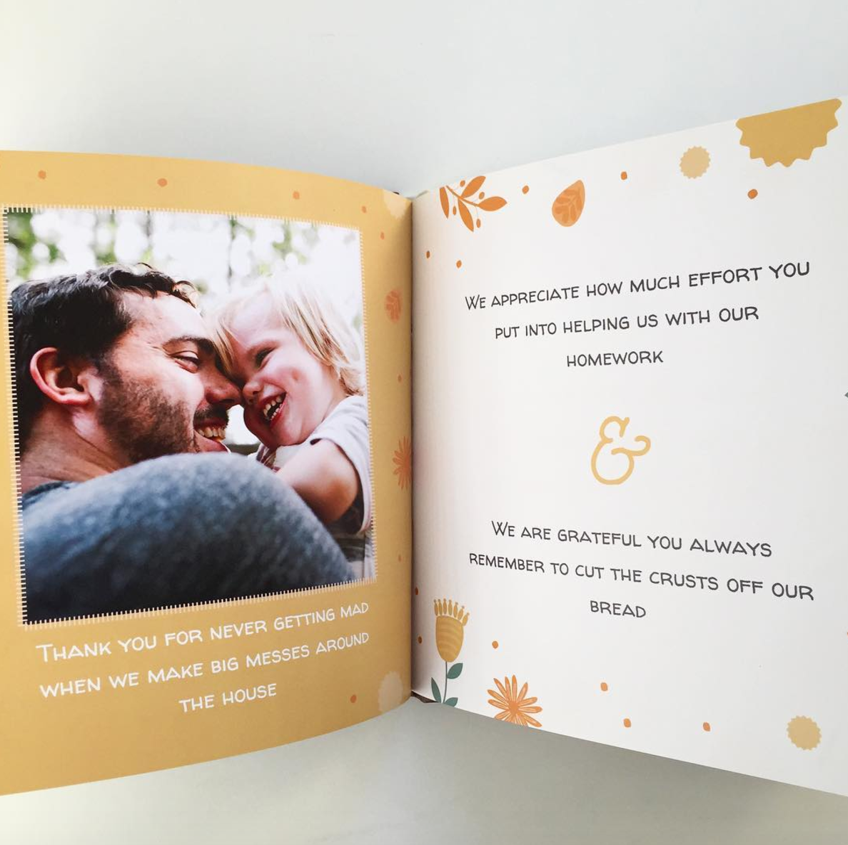 Fathersday T Idea Fill In The Blank Memory Book