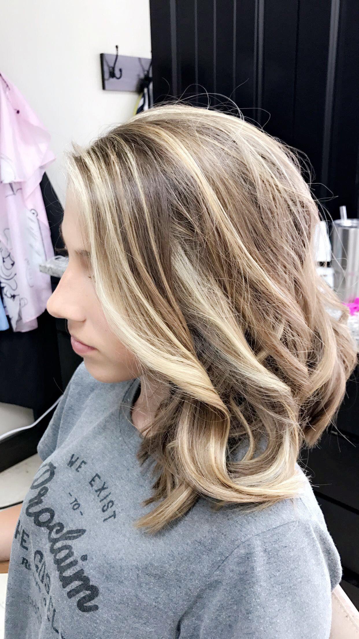 platinum blonde + honey blonde highlights with natural ...