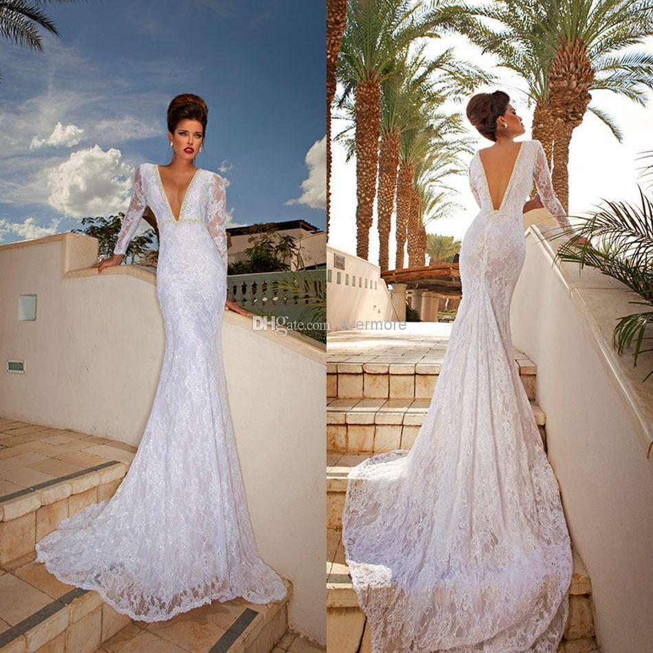 100+ No Back Wedding Dresses - Informal Wedding Dresses for Older ...
