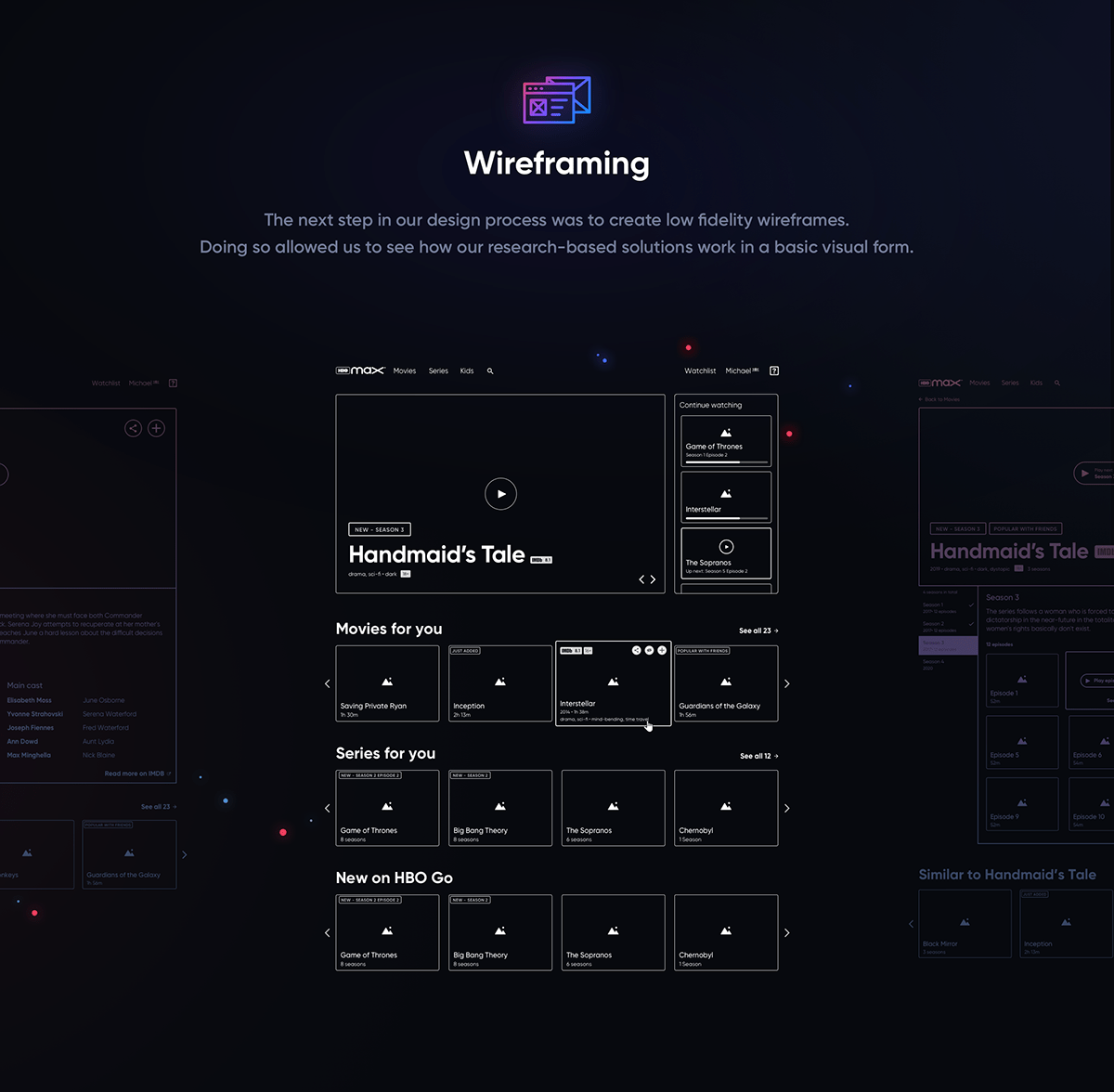HBO Max UX Research and Conceptual Design on Behance in