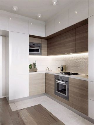 Small Kitchen Layout Ideas Mezzanine One Wall Galley With