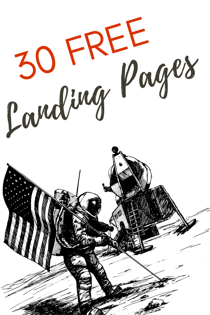 Get these free squeeze page templates and free landing