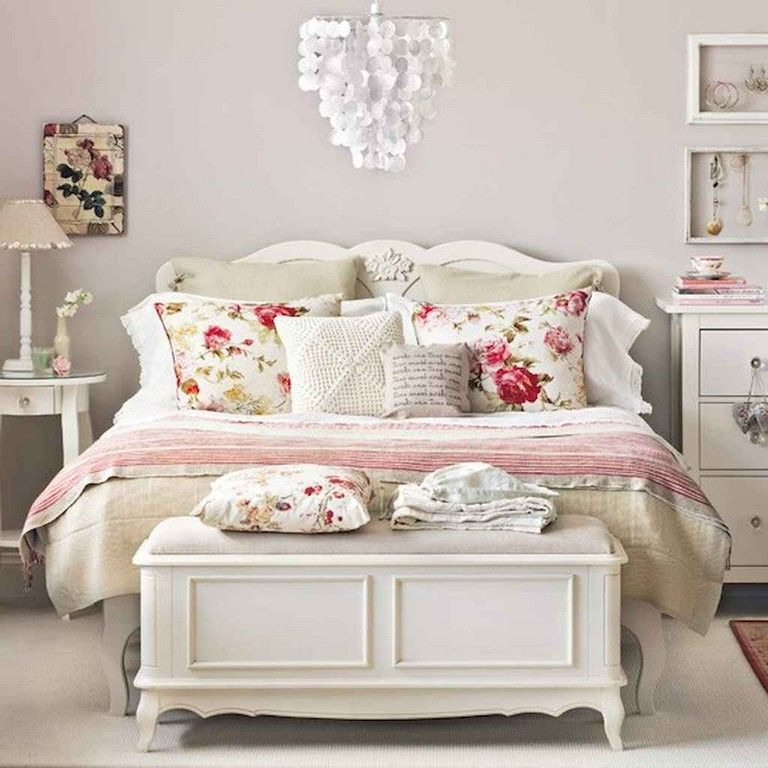 Diy Shabby Chic Bedroom: 52+ Awesome Shabby Chic Bedroom Decorating Ideas