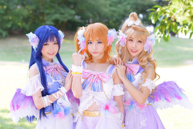 honoka, kotori and umi - CoCoSoRi 南ことり, 園田海未 コスプレ写真 - WorldCosplay