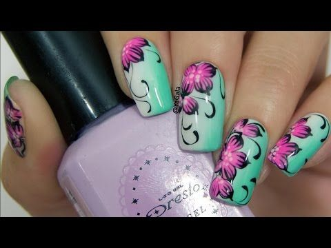 Nail Art Tutorial Compilation 2017 Nails By Yagala 65 Youtube