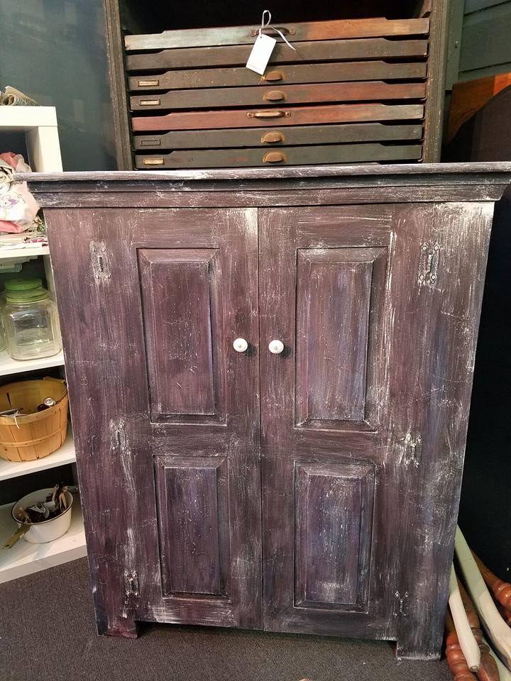 Theresa Wells Stifel Gave A Modern Yellow Cabinet A Rustic Farmhouse Style.  CeCe Caldwellu0027s Chalk