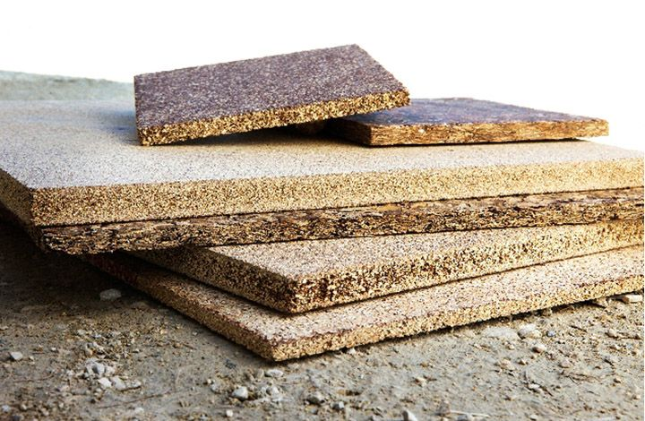 Natural Building Materials : These construction panels are tannin bonded agricultural