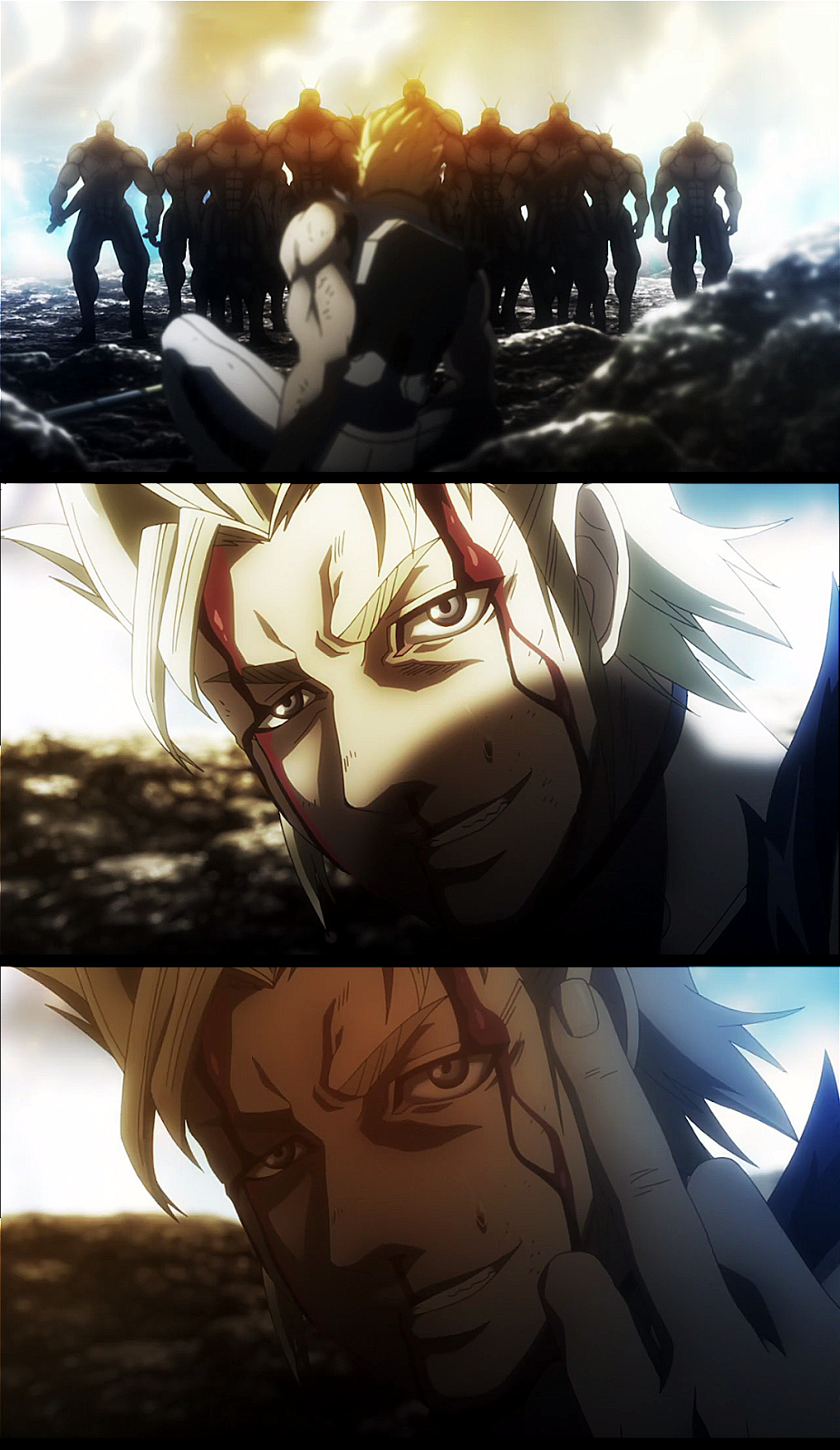 Should have come the other day Terra Formars Anime