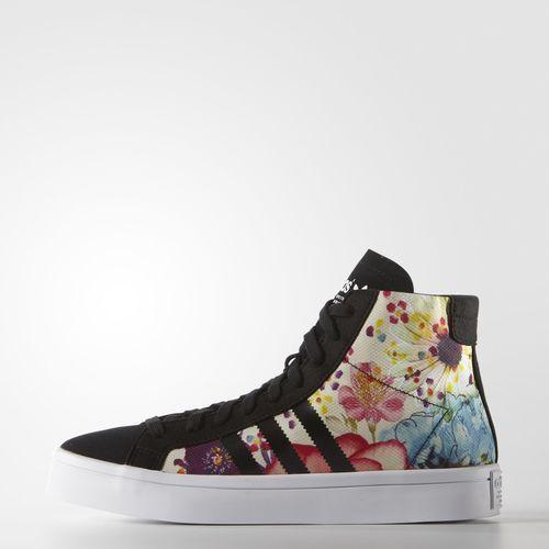 CourtVantage Mid Shoes - Black