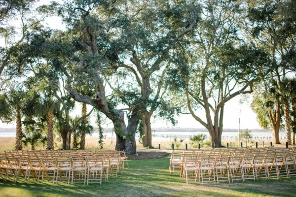 Charleston Plantation Wedding Ceremony | Stylish Charleston Wedding | Elizabeth Ann Designs: The Wedding Blog | A Charleston Bride | photography by http://www.seanmoney-elizabethfay.com