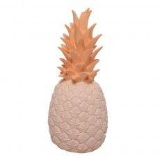Ananas Lampe - rosa