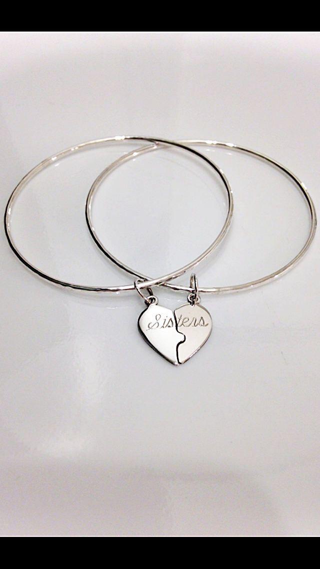 Sterling Silver Sisters Bracelet By