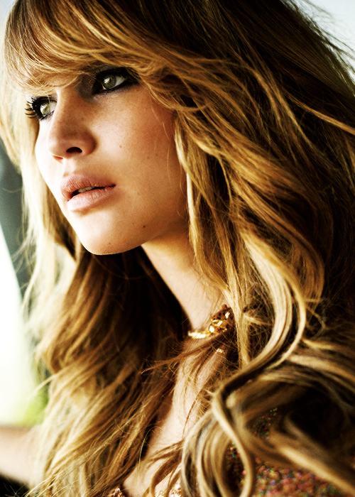 Jennifer Lawrence is so pretty but I'm especially loving her hairstyle in this pic