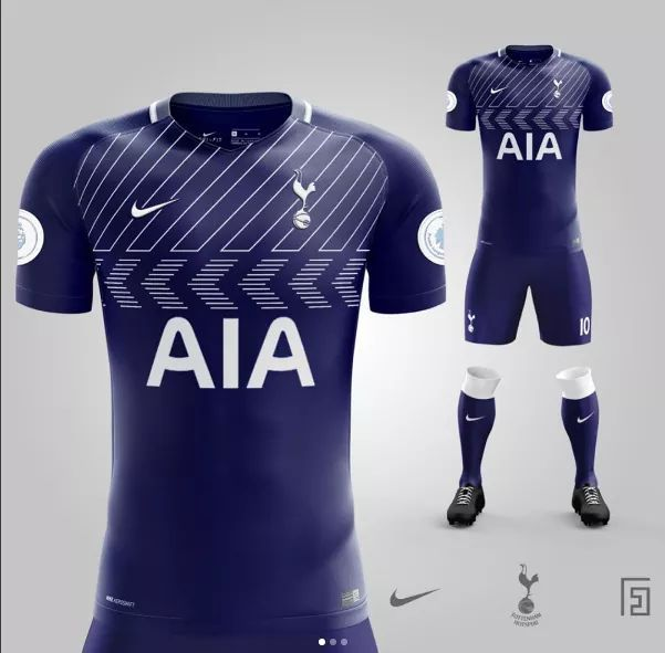 c9ed96bda Another new Spurs kit design leaked for 2017 18