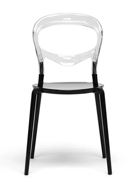 opaque chair brickell collection dining chairs pinterest rh pinterest com