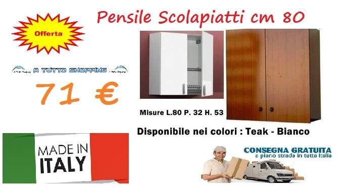 Mobili cucina pensili scolapiatti lavelli | Mobili cucina in offerta ...