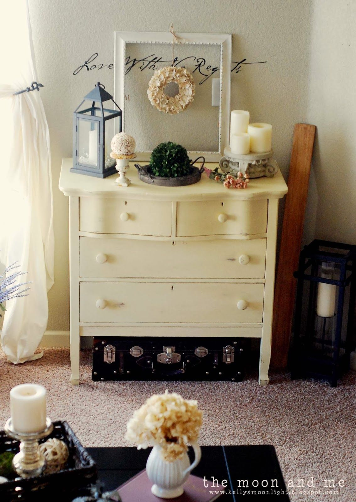 The Moon and Me: The Painted Lady ~ A Dresser Update
