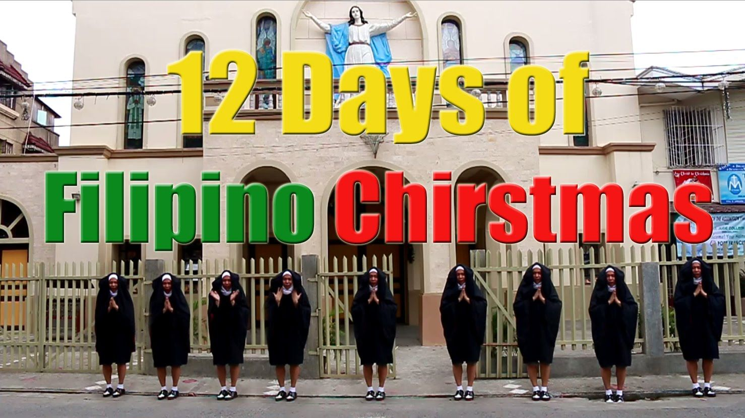 12 Days Of Filipino Christmas Just For Laughs 12 Days Christmas