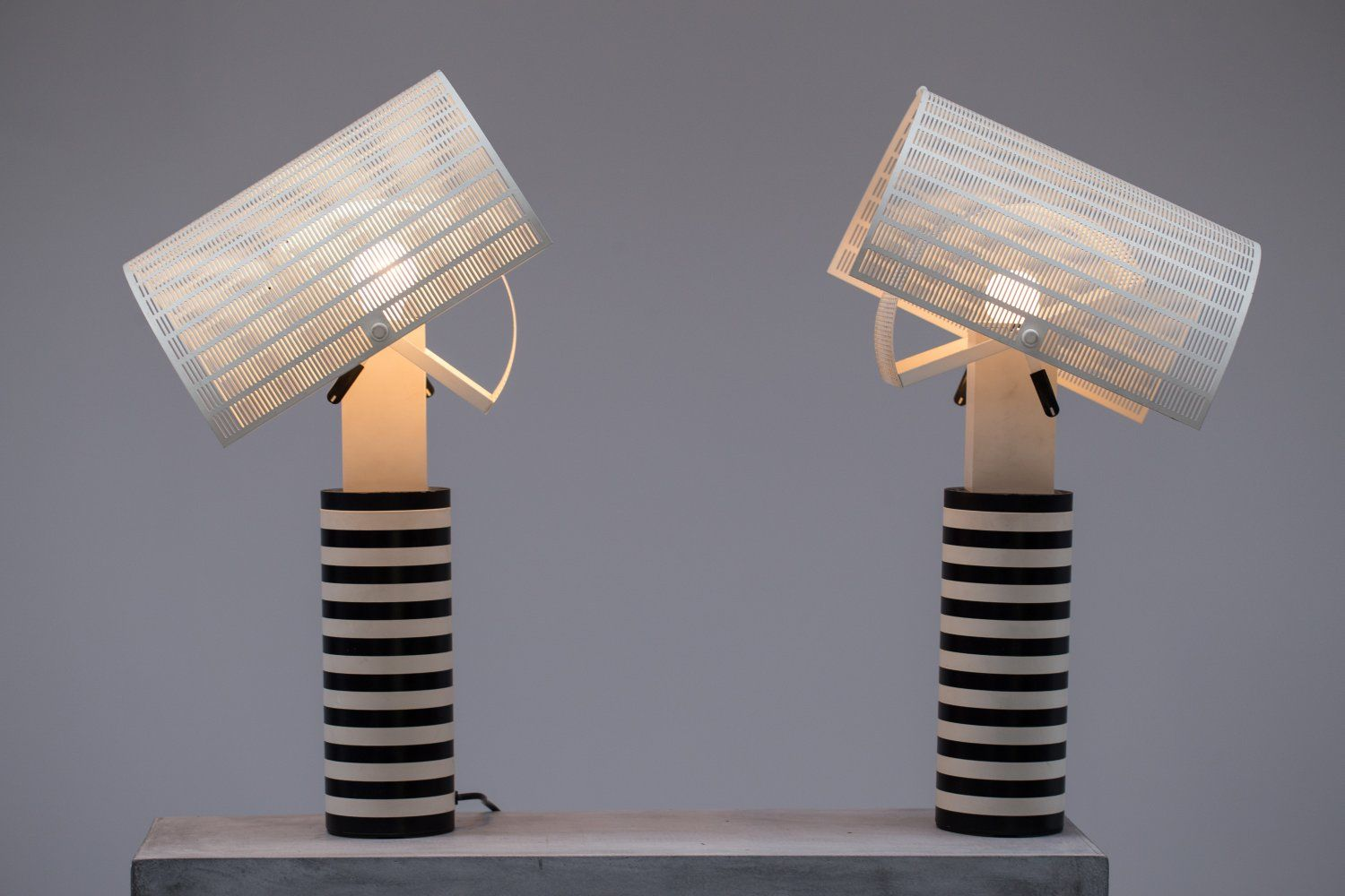 Pair of Shogun Table Lamps by Mario Botta | Lamp, Table lamp