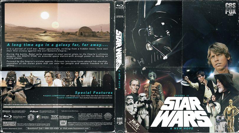 Blu Ray Cover Star Wars New Hope – Fondos de Pantalla