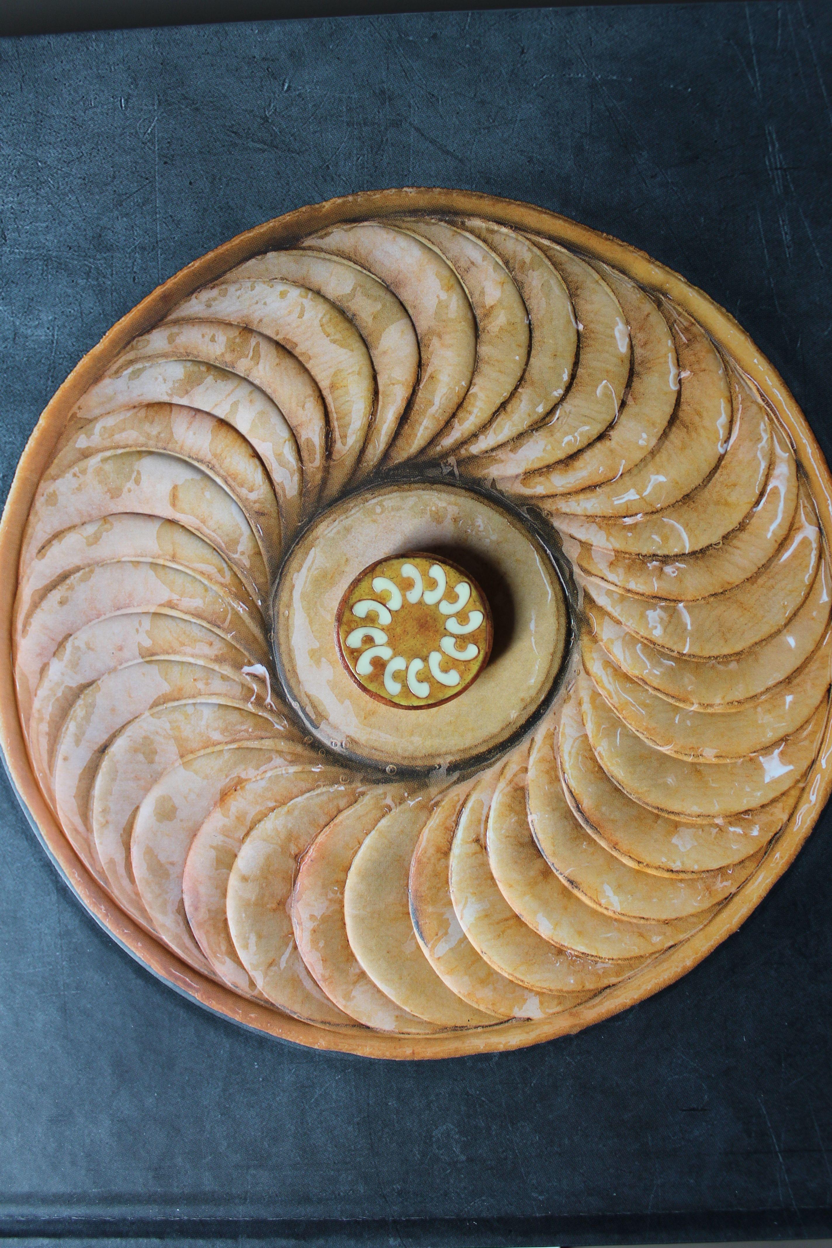 tarte aux pommes en pâte fimo