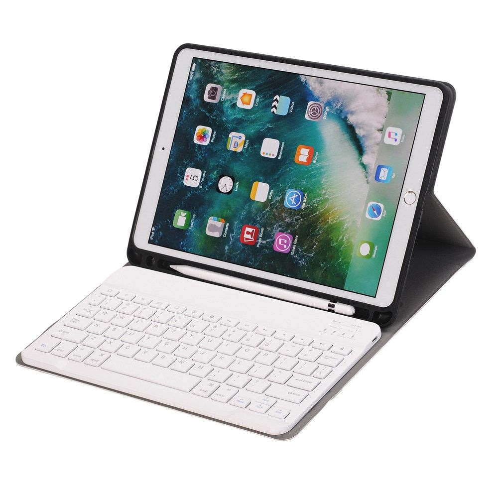 03f86ba47b9 For iPad Pro 10.5 Slim Smart Folio Stand PU Leather Case Cover With Apple Pencil  Holder+Detachable Wireless Bluetooth Keyboard Review