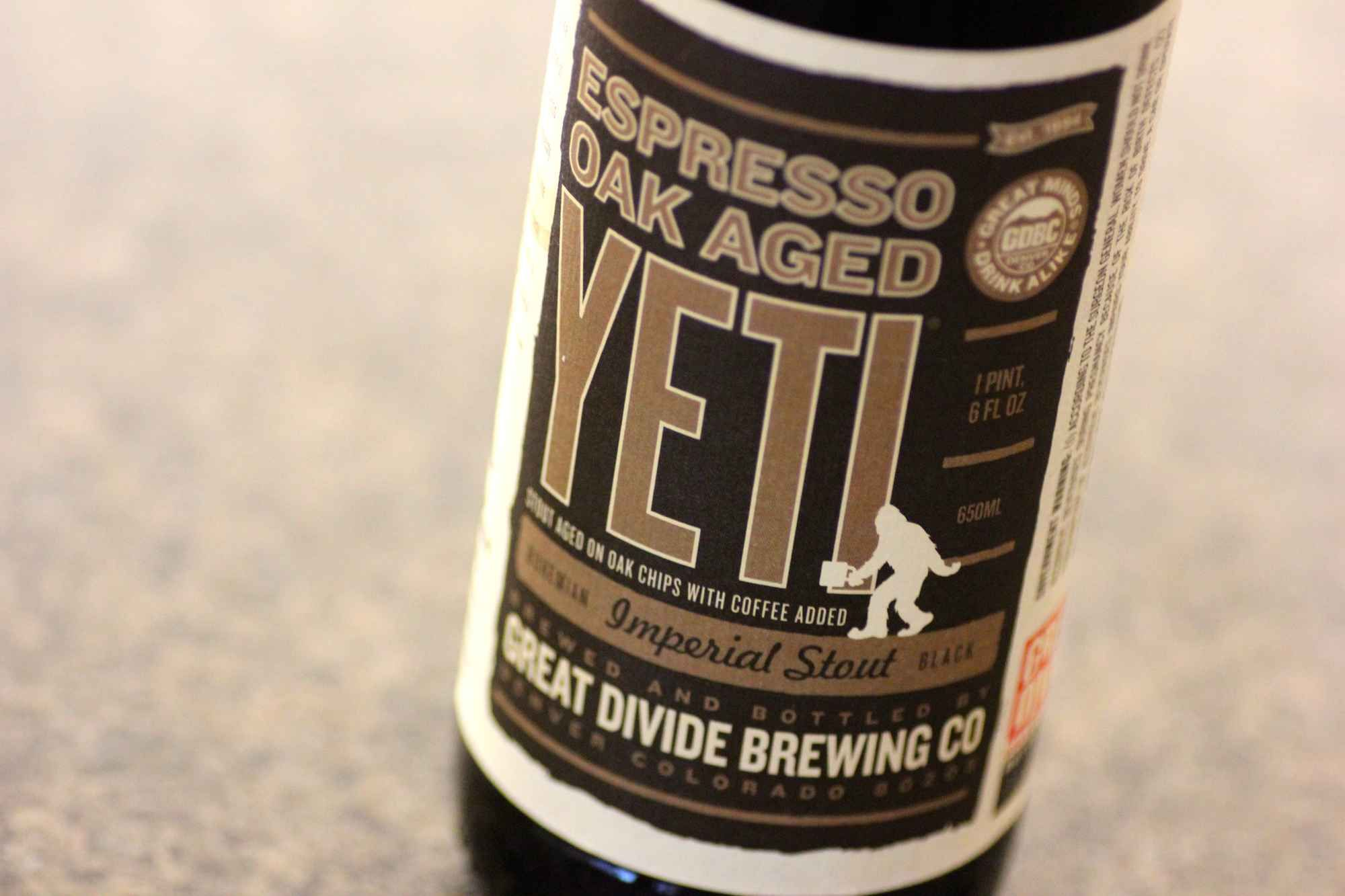 Espresso Oak Aged Yeti, Great Divide Brewing Company