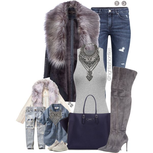 Style like mommy by highfashionfiles on Polyvore featuring mode, River Island, H&M, Abercrombie & Fitch, Gianvito Rossi, adidas Originals, Balenciaga, DYLANLEX, OroClone and Old Navy
