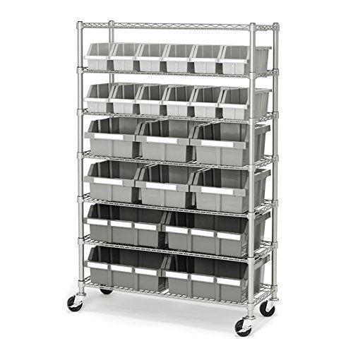 Storage Rack System Garage Kitchen Organizer Holder