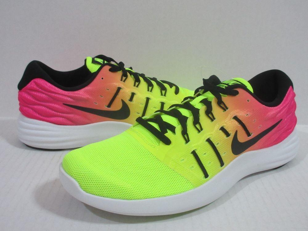 NIKE LUNARSTELOS OC RUNNING Men s 844738 999 MULTI-COLOR MULTI-COLOR  Nike 3efcba4a43