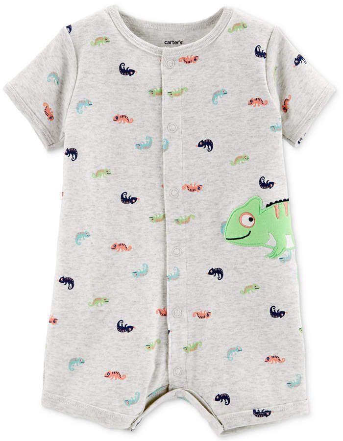 d682b2cc Carter's Carter Baby Boys Cotton Chameleon Romper. Carter's Carter Baby  Boys Cotton Chameleon Romper Zara Baby, Baby & Toddler Clothing ...