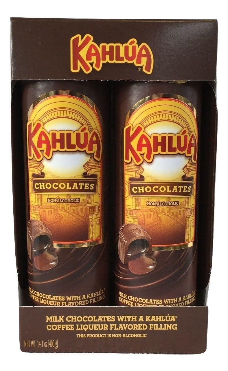 Turin Kahlua Coffee Liqueur Flavor Filled Milk Chocolates 14.1 oz Gift Set