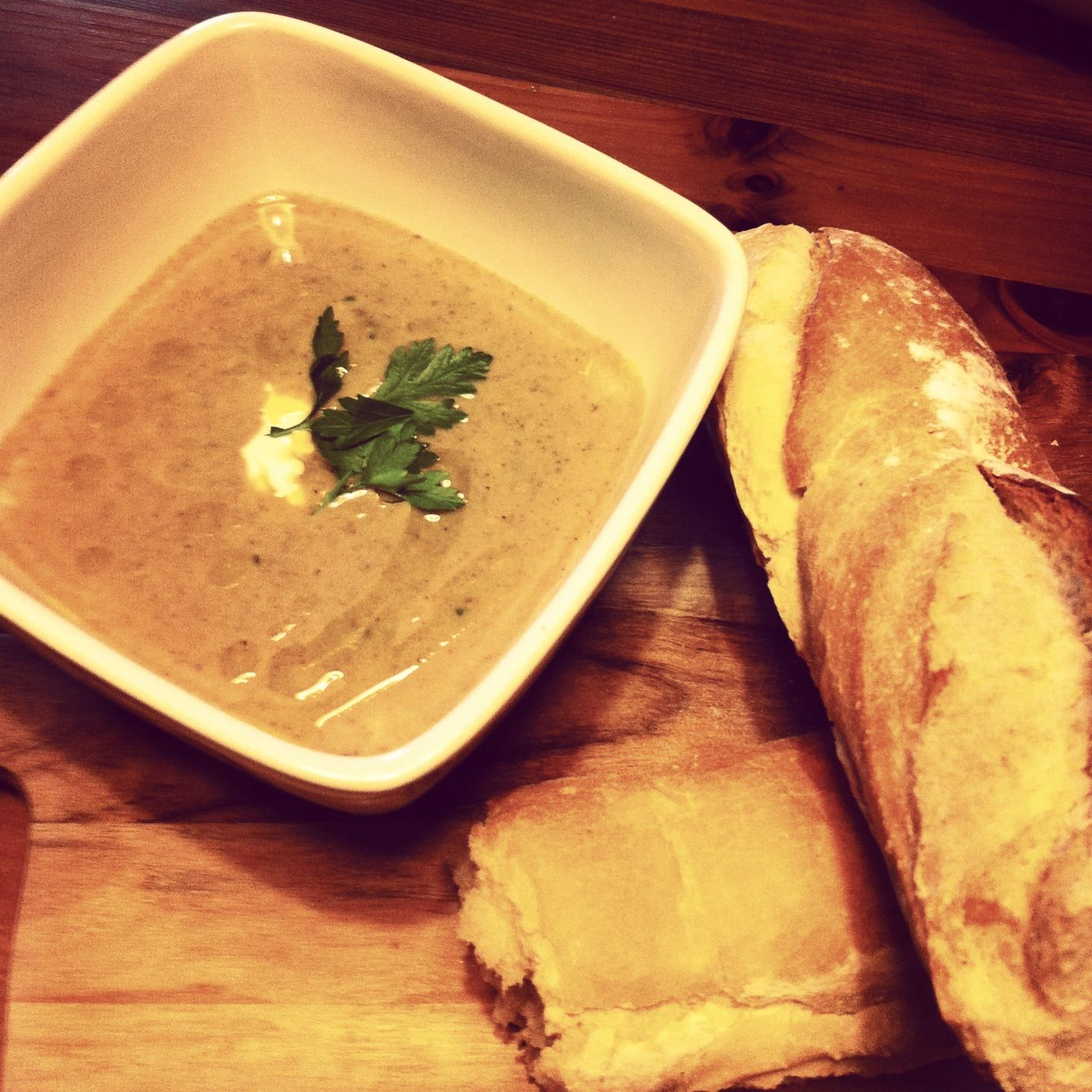 Jamie Oliver Dinner Party Ideas Part - 34: Jamie Oliver Mushroom Soup With Mascarpone. Lunch For Today And It Is  Scrumptious. A