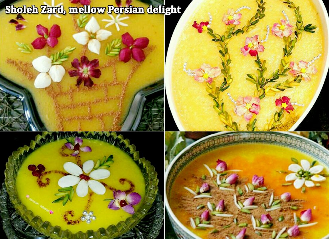 Sholeh Zard Mellow Persian Delight Www Ifilmtv Com English Persische Kuche Persisches Essen Orientalische Rezepte