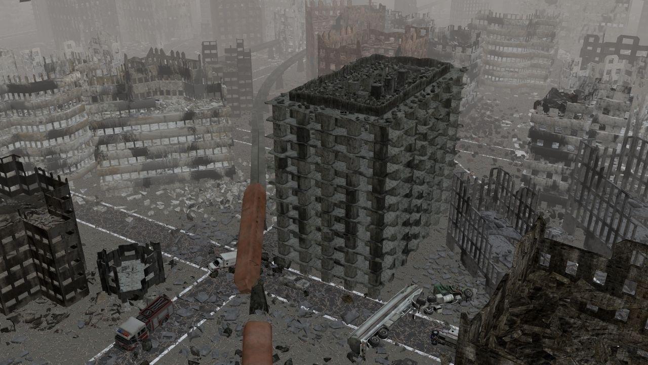 Destroyed town 3D Model  obj - CGTrader com   Isgrun Vet cityscape