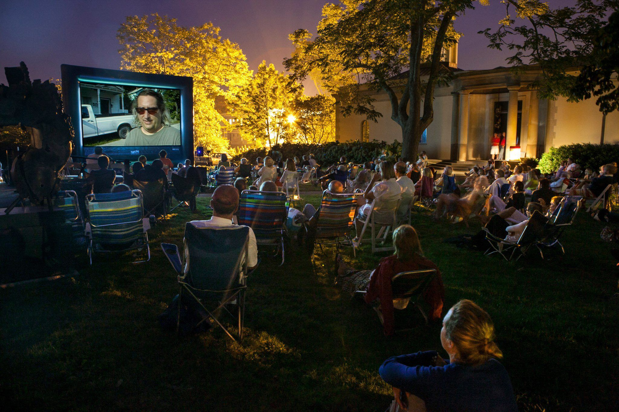 Bringing communities together movie in the park
