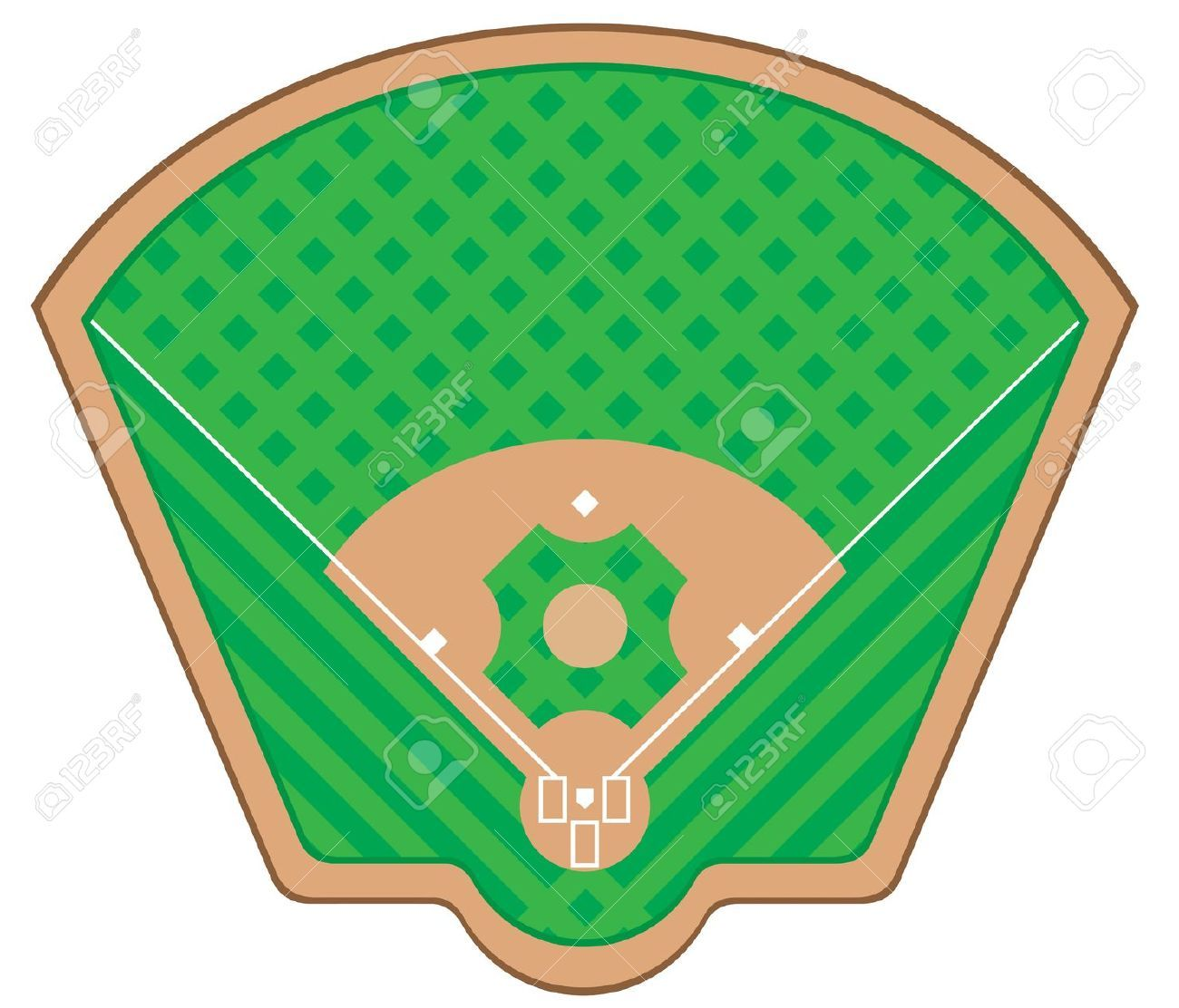 black and white baseball field clipart google search fields rh pinterest ca