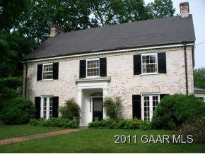 White Brick Colonial