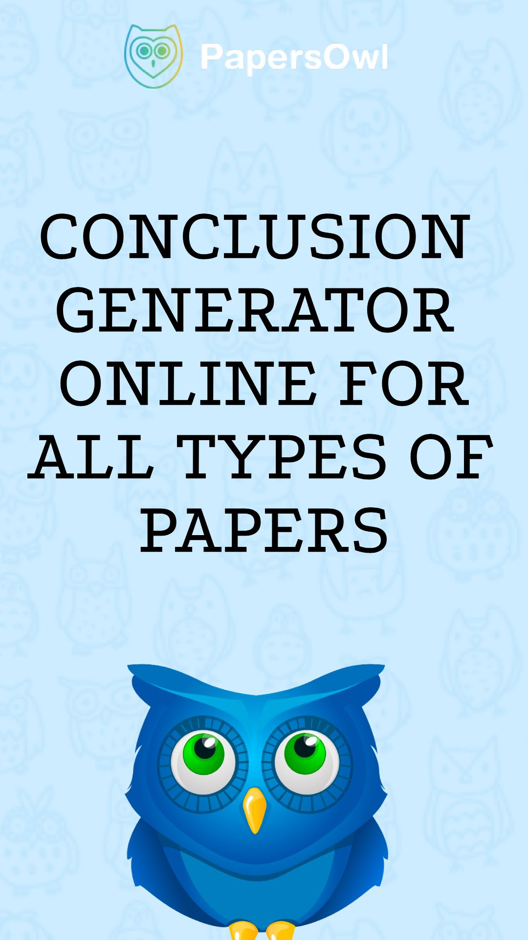 Conclusion Generator Online For All Type Of Paper Informative Essay Argumentative Topic Common App Maker