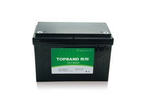 12V80Ah  TOPBAND LiFePO4 lithium battery