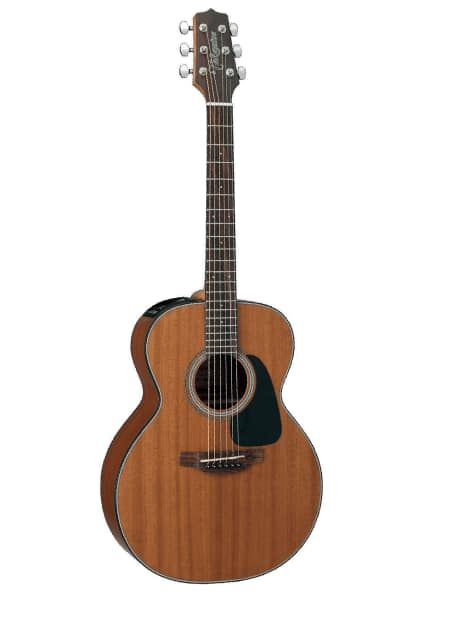 Takamine GX11ME-NS Mahogany 3/4 Size Travel Acoustic-Electric | Reverb $349 The rosewood 21 fret fingerboard and friendly  42mm nut width have the feel of an old friend. Take it to the beach and have fun.  Take it to the studio and record some good music.  And with the TP4T preamp you can take it on stage. INCLUDES A GIG BAG.